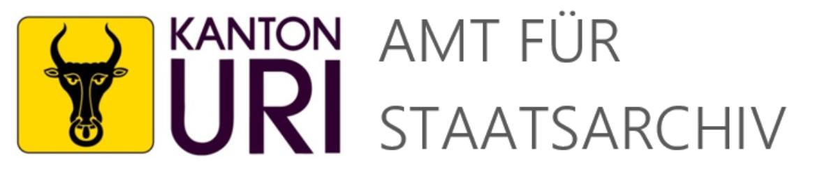 Amtsblatt Uri 1849-1998